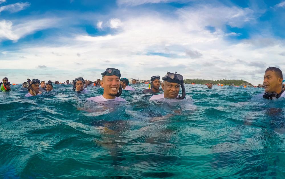 モルディブがフリーダイビングの世界記録を更新