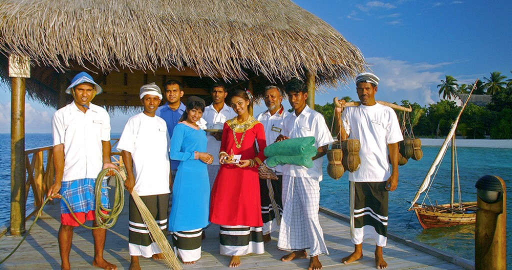 Traditional costumes of Maldives