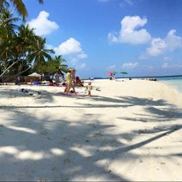 Soggiorno di una notte nell'isola di Maafushi