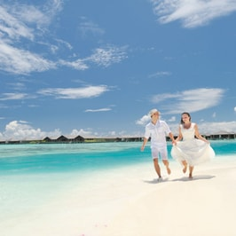 Aufenthalt mit einer Übernachtung in einer Strandvilla in Paradise Island