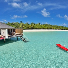 One Night Stay in Water Villa, Paradise Island