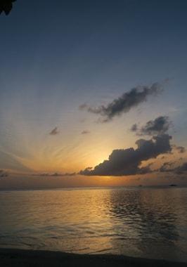 Foto von Thinadhoo (Im Vaavu Atoll)
