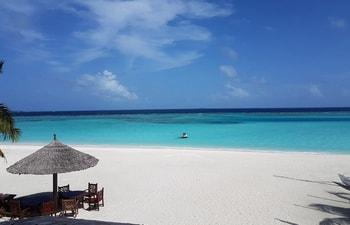 Beach hut at Paradise Island Resort & Spa