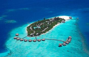 Aerial view of Adaaran Club Rannalhi