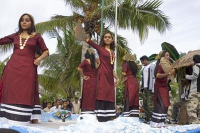Maledivischen Kultur