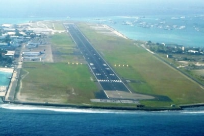 Malè, l'aeroporto