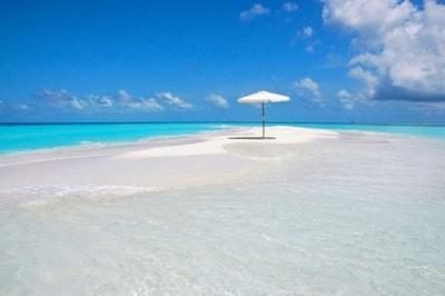 Schnorcheln bei einem Stopp an einer Sandbank