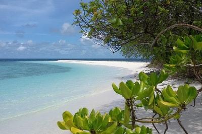 Escursione ad Hulhidhoo, isola deserta, atollo di Vaavu