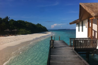 Honeymoon at Reethi Beach Resort