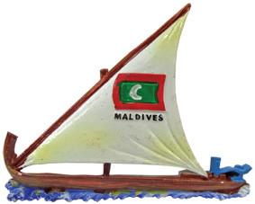 Maldives Magnet (MGC016)