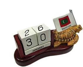Maldives Calendar with Turtle (STT003)