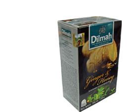 Dilmah Ginger and Honey tea, 20 tea bags, net weight 30g (FDT025)