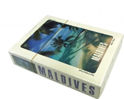 Maldives paper Playing cards (STT006)