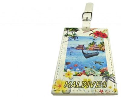 Maldives luggage tag (STT015)