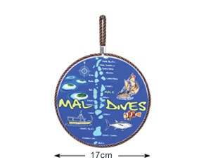 Maldives hanger with wood (DCH001)