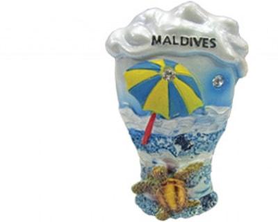 モルディブのマグネット(MGC011)
