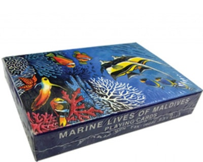 Maldives paper Playing cards (STT007)