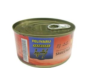 Maldives tuna with sauce, 180g (FDM003)