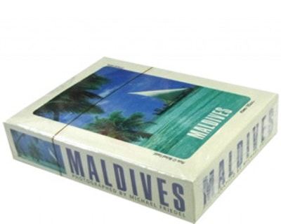 Maldives paper Playing cards (STT005)