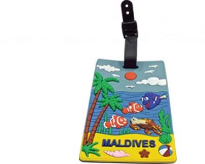 Maldives luggage tag (STT016)