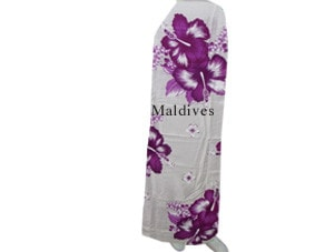 Maldives beach pareo in flower style (STP005)