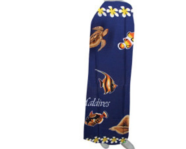 Beach pareo in fish style (SP013)