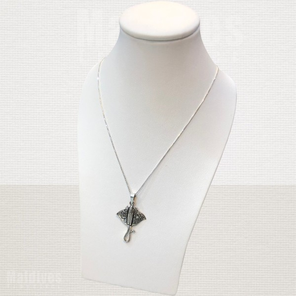Silver pendant Stingray (PS130)