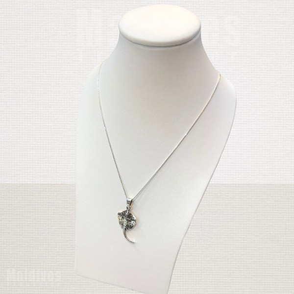 Silver pendant Stingray (PS136)