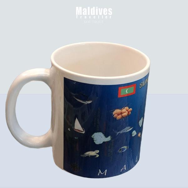 Mug with Map of Maldives