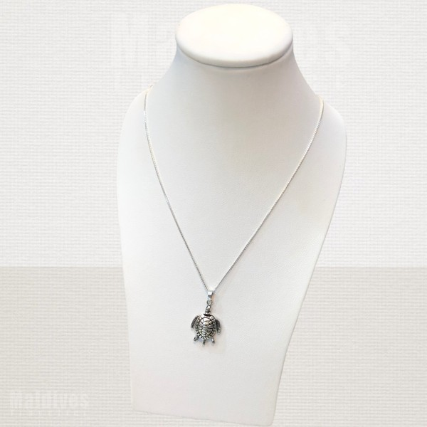 Silver pendant Turtle (PS127)