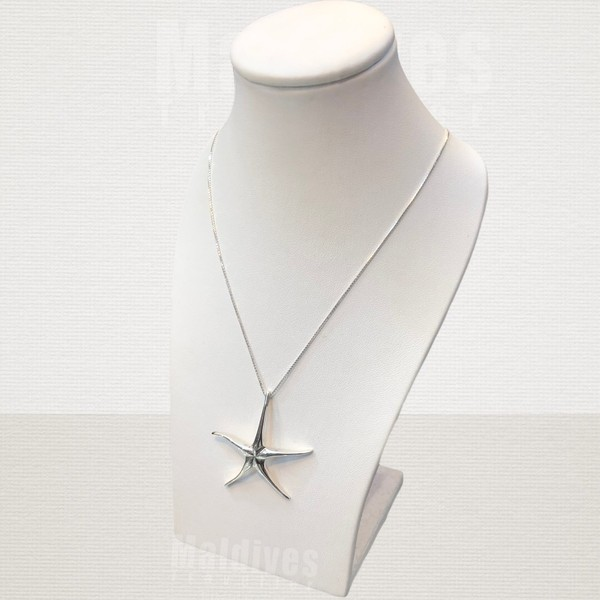 Silver pendant Starfish (PS141)