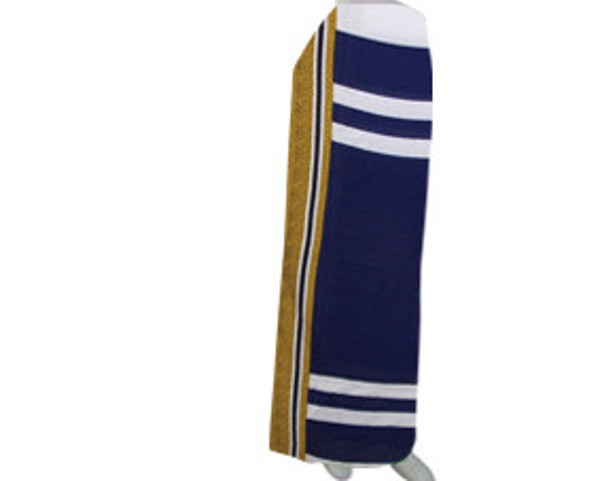 Traditional pareo in dark blue (SP002)