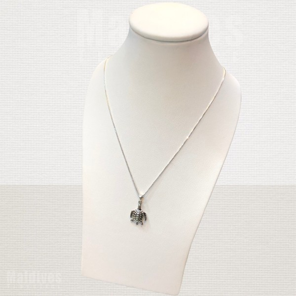 Silver pendant Turtle (PS126)