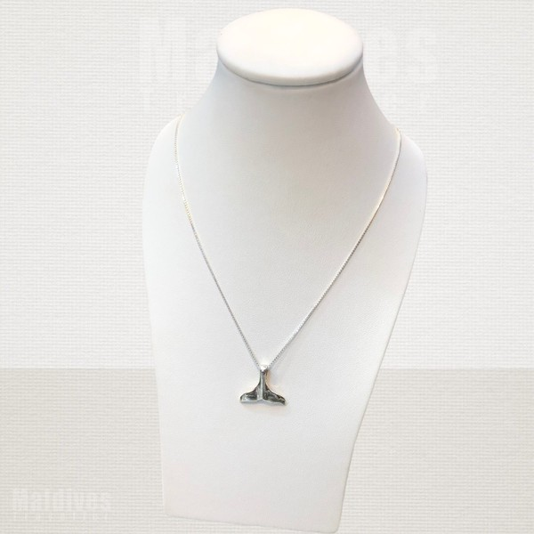 Silver pendant Dolphin tail (PS102)