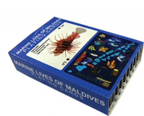Maldives plastic Playing cards (STT008)