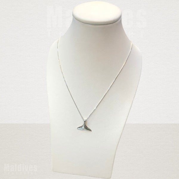 Silver pendant Dolphin tail (PS105)