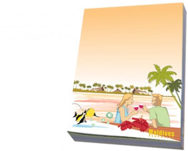 Malediven-Notizbuch (STT010)