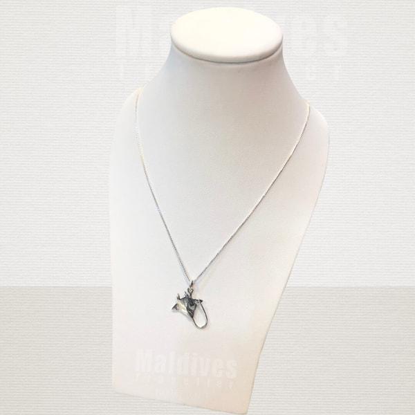 Silver pendant Manta ray (PS113)