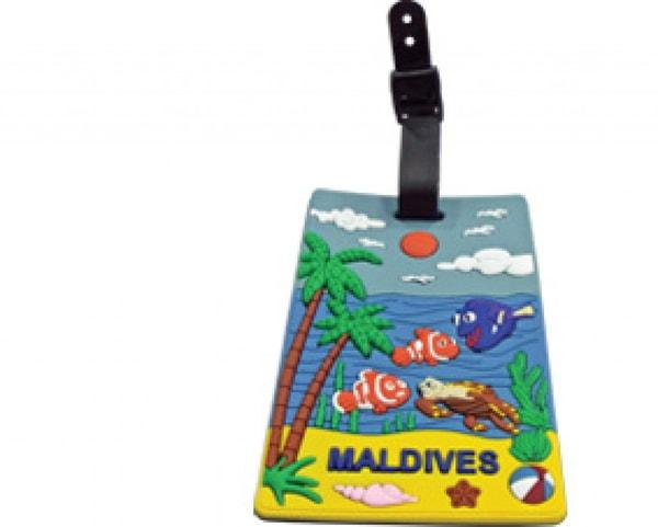 Malediven Gepäckanhänger (STT016)