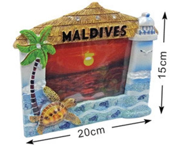 Malediven Fotorahmen (DCF001)