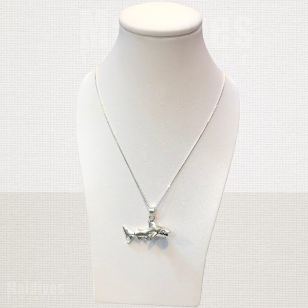 Silver pendant Shark (PS122)